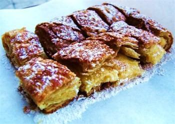 Mpougatsa Kuchen aus Thessaloniki