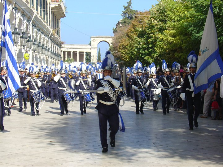 Korfu, Griechenland, Ostern