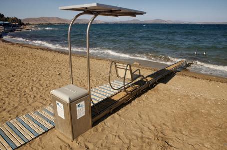 Zugang Behinderte Strand Zugangfrei