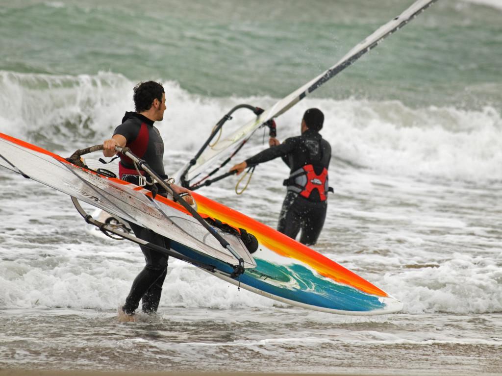 Windsurfen Andros