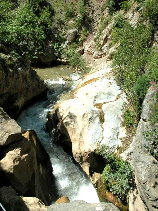 Vouraikos, Fluss, Peloponnes, Griechenland, Schlucht