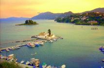 Korfu Griechenland Maeseinsel
