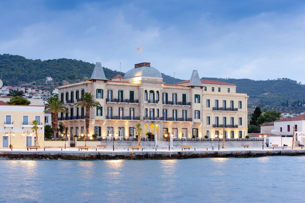 Spetses Griechenland Insel Segeln