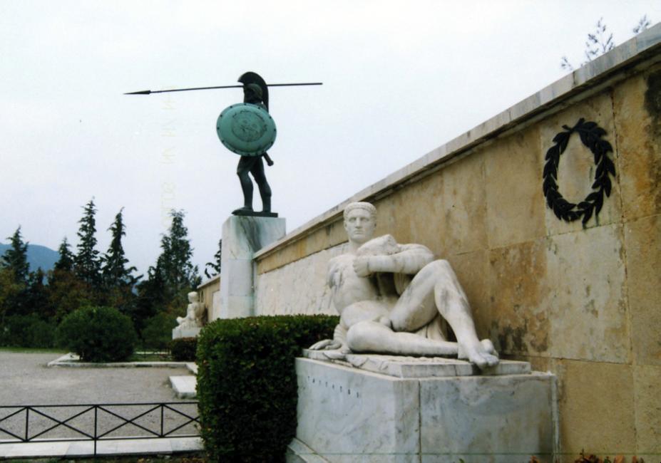 Leonidas Thermopyles Lamia Griechenland
