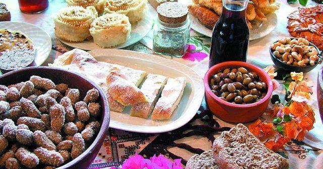 Griechische Produkte Kreta Griechenland Gastronomie