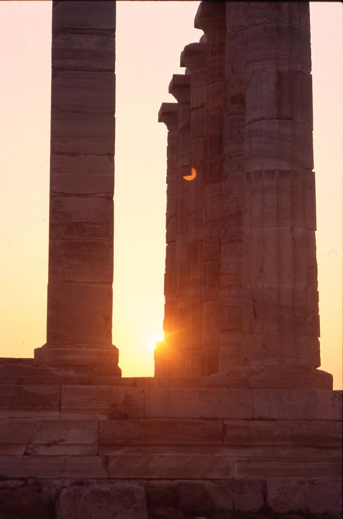 Sounio Sonnenuntergang 2
