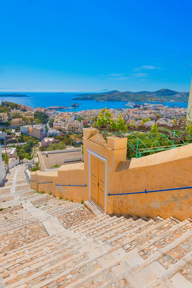 Ano Syros, Kykladen, Griechenland