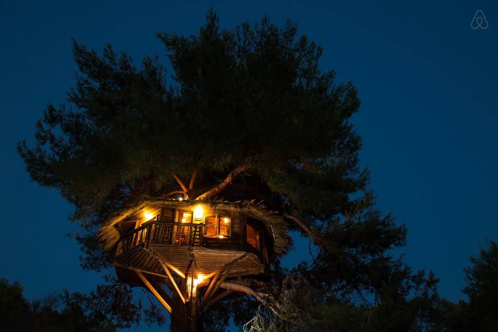 Glamping Baumhaus Amaliada BLick