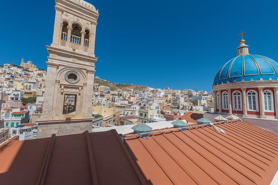 Ano Syros, Kykladen, Griechenland, Vaporia