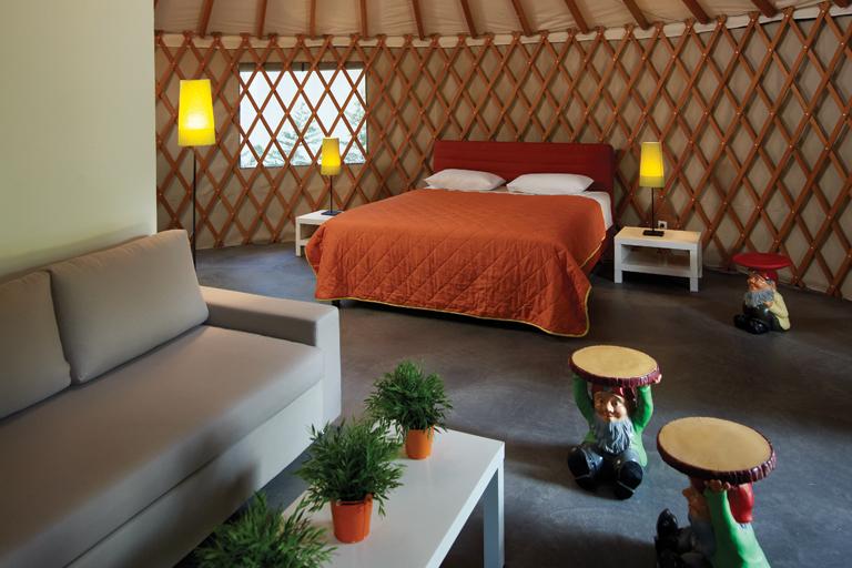 agia anna yurt inner