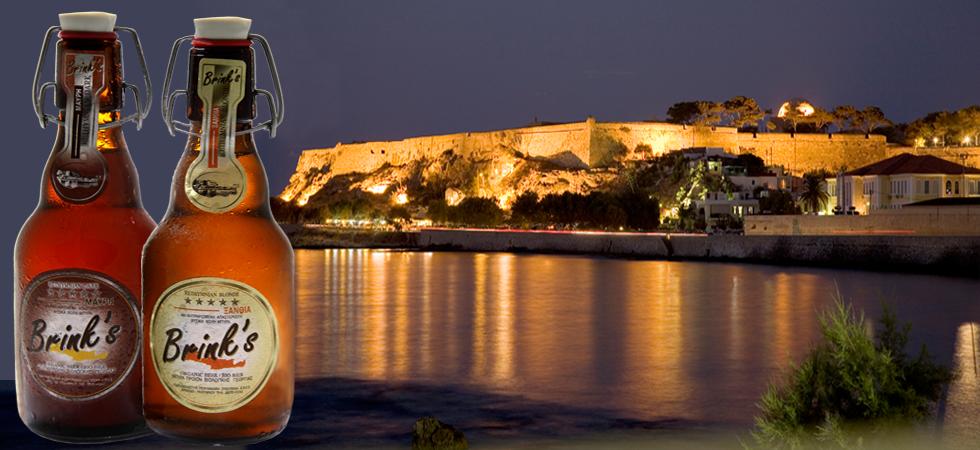 Rethymno Kreta Bier Griechenland