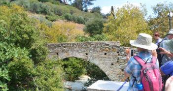 Andros, Kykladen, Griechenland, Wandern, Brücke