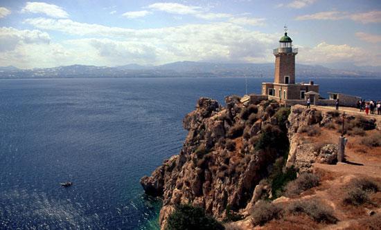 melagavi Leuchtturm Griechenland