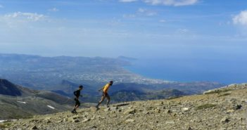 Psiloritis Rennen Kreta Griechenland