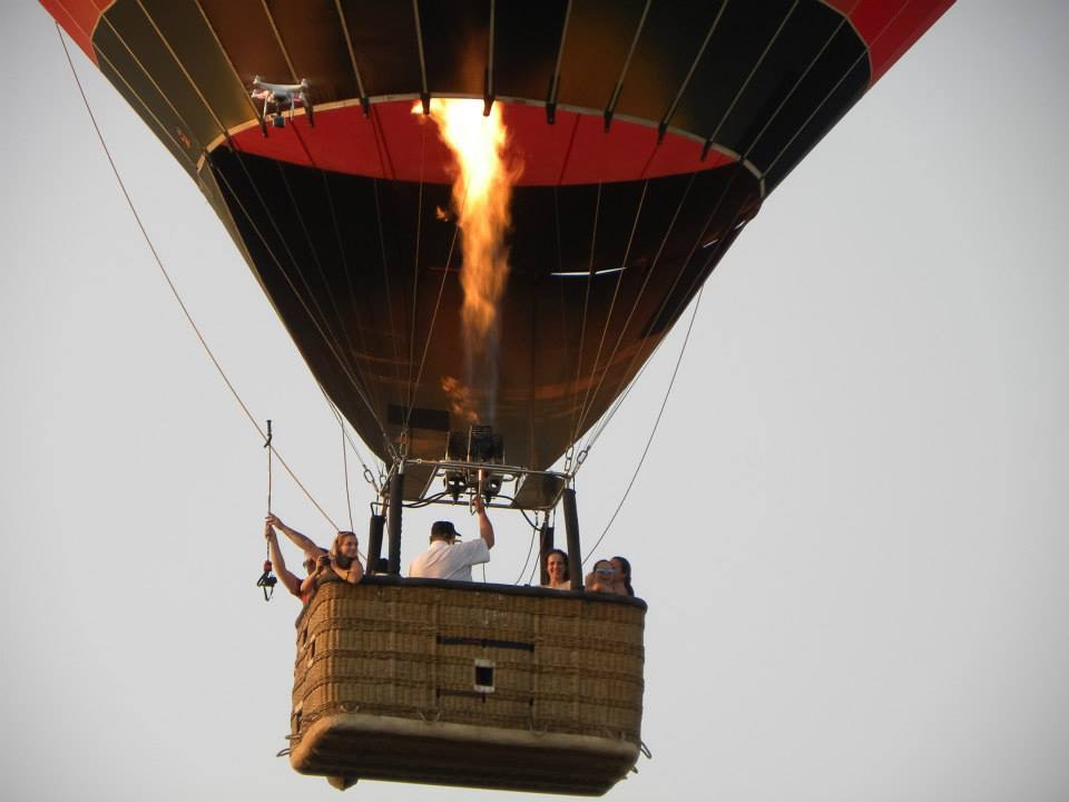 Heißluftballon Griechenland