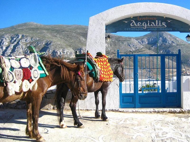 Amorgos Insel Kykladen Griechenland