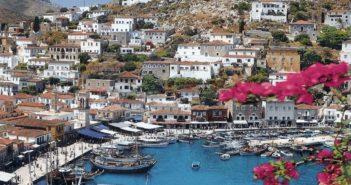 Hydra, Landschaft, autofrei, Insel, Hafen