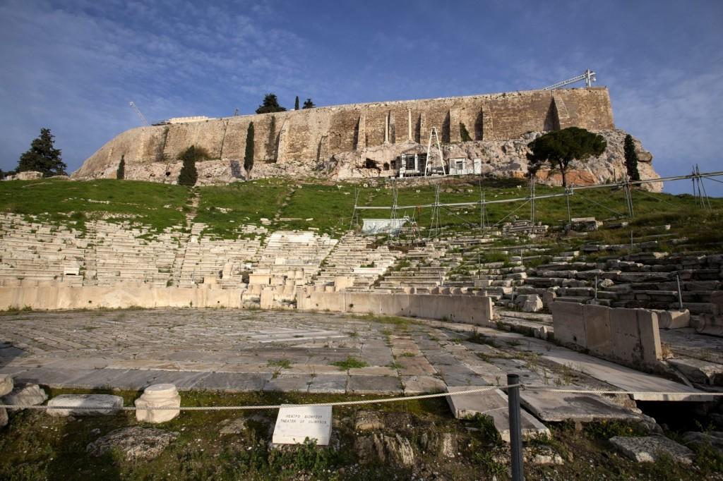 Athen, Akropolis, Stadttour, Stadtführung. Dionysos, Theater