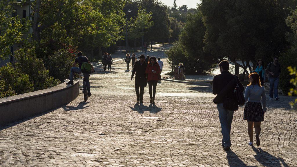 Dionysiou Aeropagitou Fußgängerzone