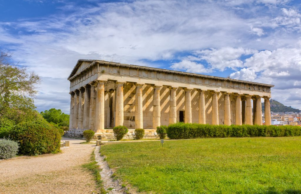 the-temple-of-hephaestus -in- ancient-agora-one-of-athens-most-visited-anient-monuments-1024x660