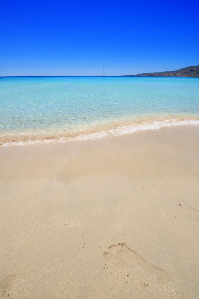 Elafonisi, Insel, Kreta, Meer, Strand, Schwimmen, Griechenland