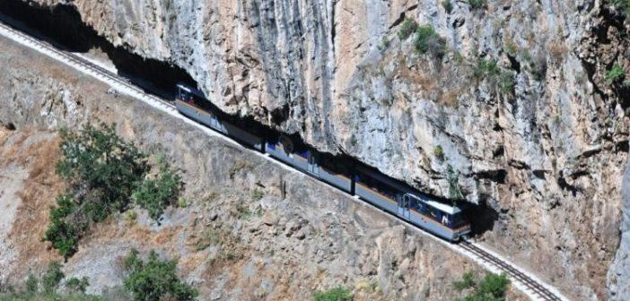 Zahnradbahn, Kalavrita, Vouraikos, Schlucht