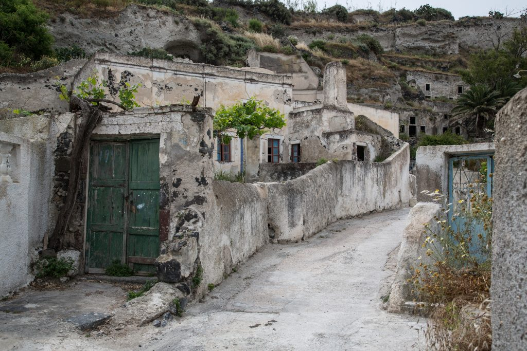 Vothonas, Santorin, Griechenland, Insel