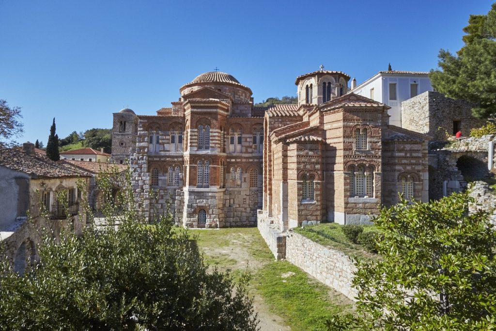 Osios Loukas, Heiliger Loukas, Kloster, Delphi, Delfi, Arachova, Kirche, Griechenland, byzantinische