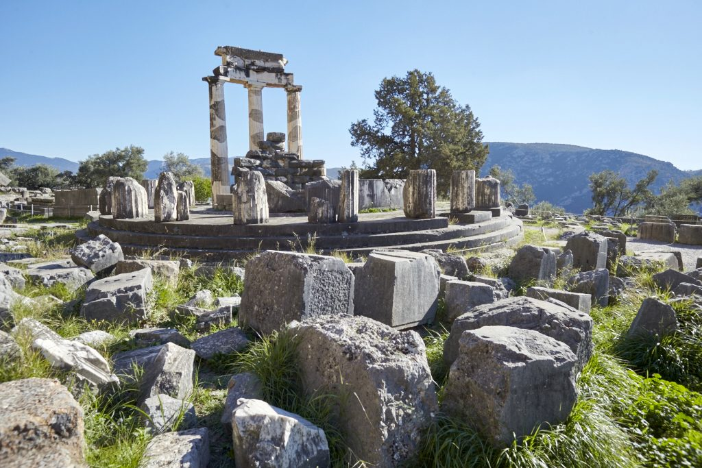 Delpfoi, Delfi, Griechenland