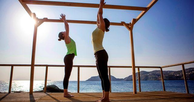 Yoga, Griechenland, Greece, Kreta, Crete, Agia Pelagia, Capsis