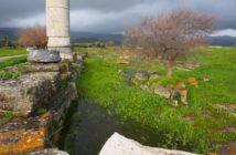 Wasser im Tempel