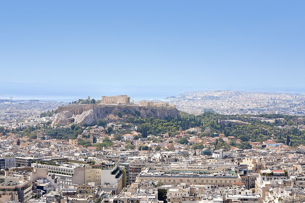view-of-the-parthenon-and-the-acropolis-of-athens-as-seen-from-above-1024x683