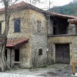 Dorf Häuser