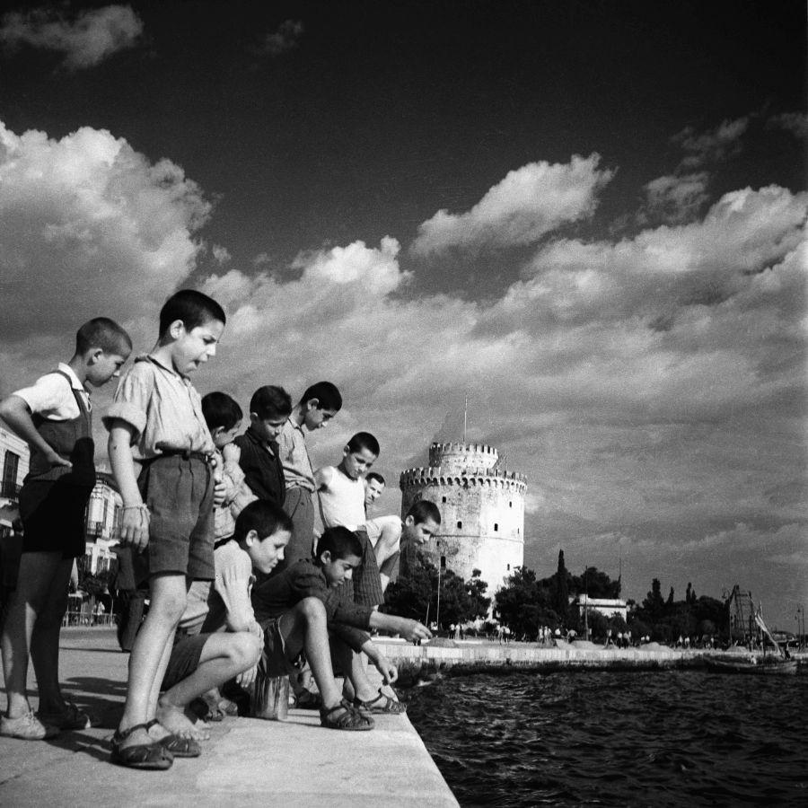 Socratis Iordanidis, Internationale Messe von Thessaloniki, 1960. Foto © Thessaloniki Museum für Fotografie Sammlung / Quelle: Museum Europäischer Kulturen.