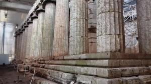 Der Apollontempel auf Bassae.