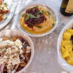 Syros Gastronomie ist eine elegante Kombi lokaler Produkten mit westlichem Einfluss.