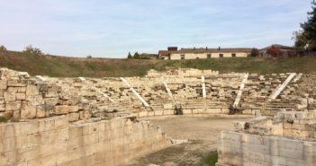 Antikes Theater von Larissa
