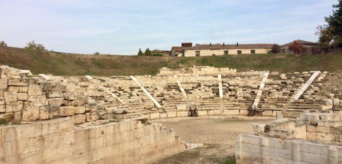 LArisa, Larissa, Griechenland, Thessalien, antikes Theater
