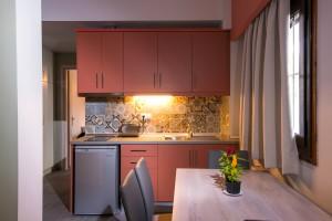 Eine völlig ausgestattete Küche für Ihren Komfort.