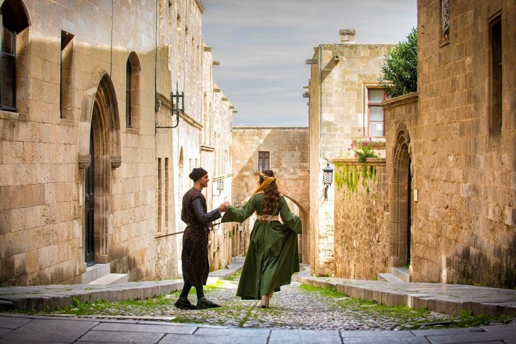 Wiederbelebung der mittelalterlichen Altstadt