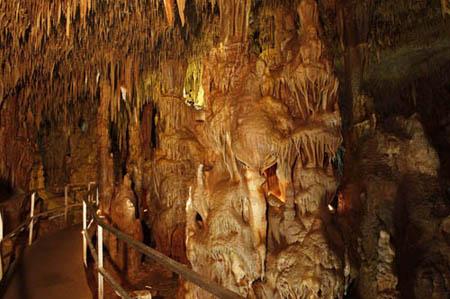 Patralona Höhle, Chalkidiki, Halkidiki, Griechenland