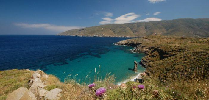 Monatsvorschlag: Strände, Unterkunft und Wanderroutes auf Andros!