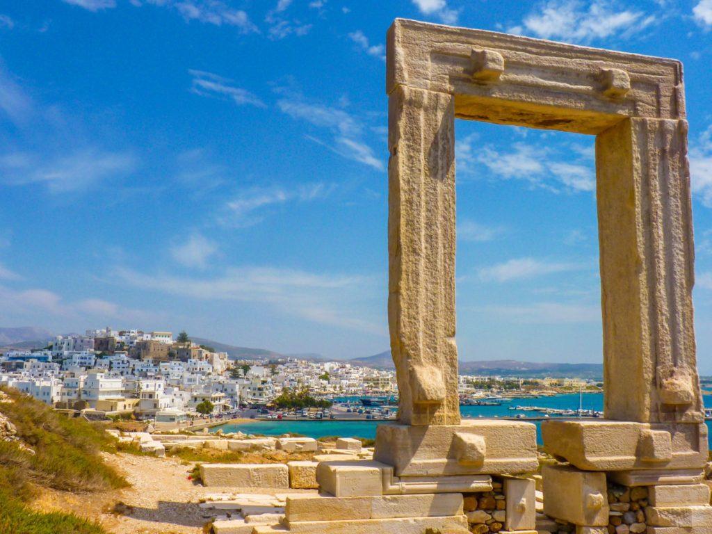 Naxos, Portara, Griechenland