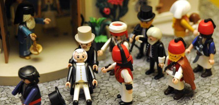 Die griechische Revolution von 1821 mit Playmobil-Figuren