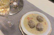 Rezept, griechisches Rezept, kochen, Giouvarlakia