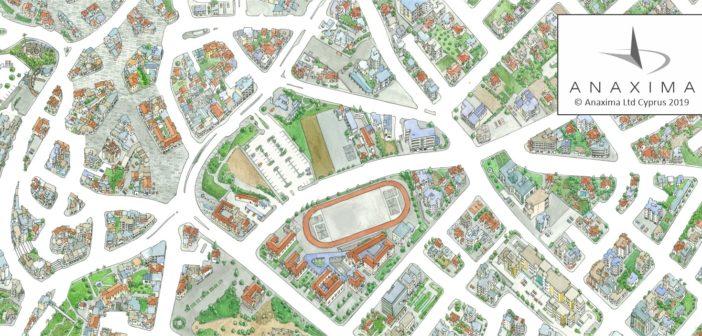 Paros: Erkunden die Stadt Naoussa mit einer illustrierten Karte!