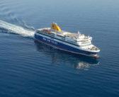 Fährverbindung von Thessaloniki mit den nordägäischen Inseln und Kykladen