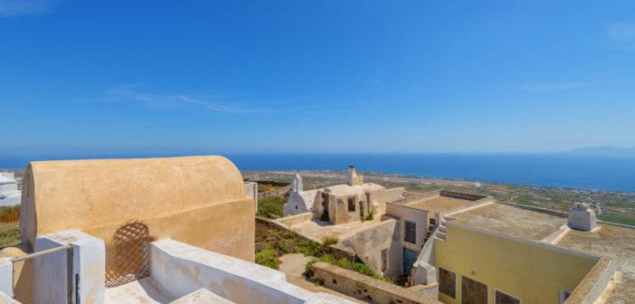 Ein verstecktes Juwel: Pyrgos auf Santorini